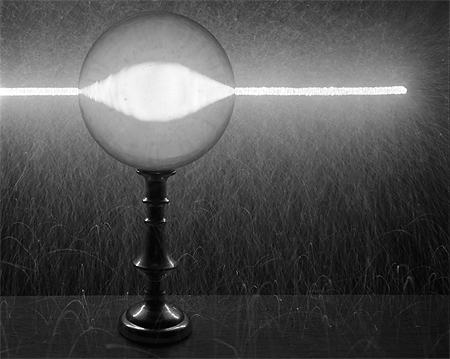 Caleb Charland: Sparkler Through Crystal Ball (2007)