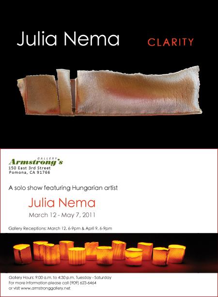 Néma Júlia Clarity meghívó
