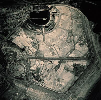 Emmet Gowin: Copper Ore Tailing, Globe, Arizona