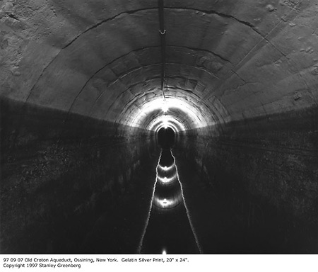 Stanley Greenberg: 97 09 07 Old Croton Aqueduct, Ossining, New York (1997)