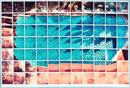 David Hockney: Sun On The Pool (1982)