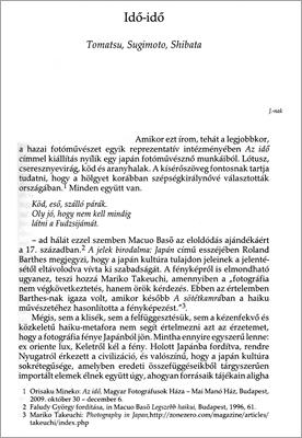 Idő-idő: első oldal