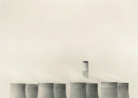 Michael Kenna: Ratcliffe Power Station, Study 69