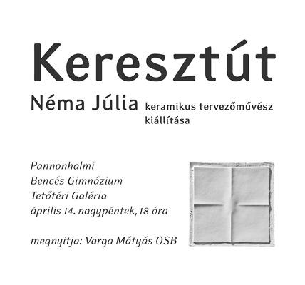 Néma Júlia: Keresztút