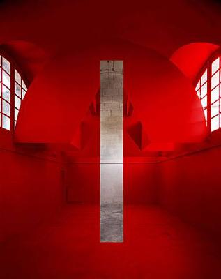 Georges Rousse: Arles (2006)