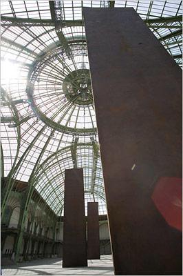 Richard Serra szobrai Párizsban