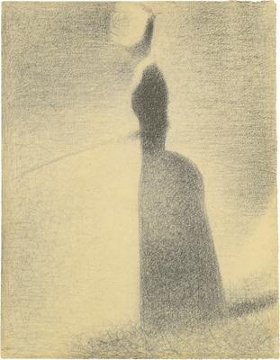 Georges Seurat: Horgászó nő (1883 k.)