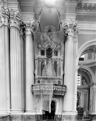 Margaret Stratton: Left Transept, San Agostino, Naples, Italy (2002)