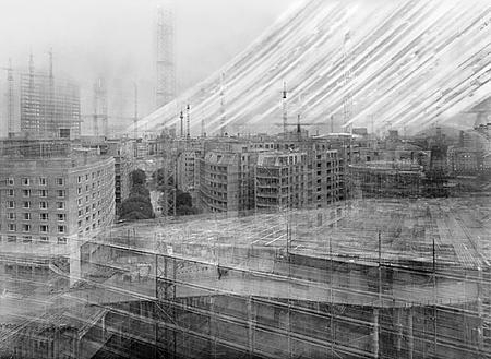 Michael Wesely: 27.3.1997–13.12.1998 Potsdamer Platz, Berlin
