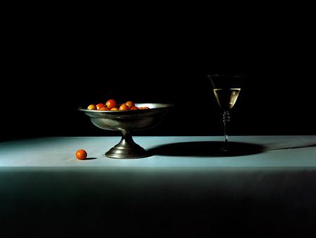 Zachary Zavislak: White Wine and tomatoes (2001)